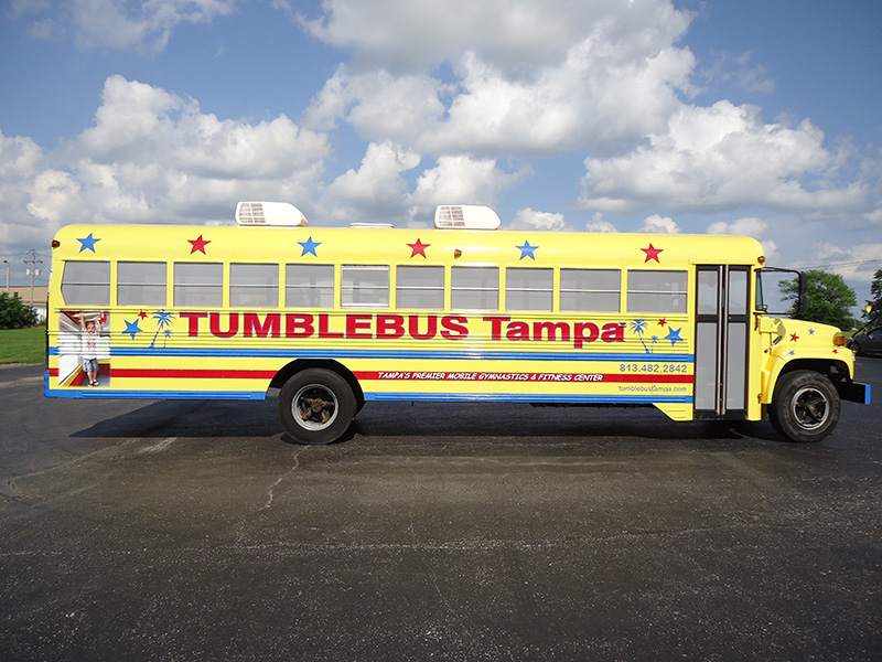 Tampa Tumble Bus