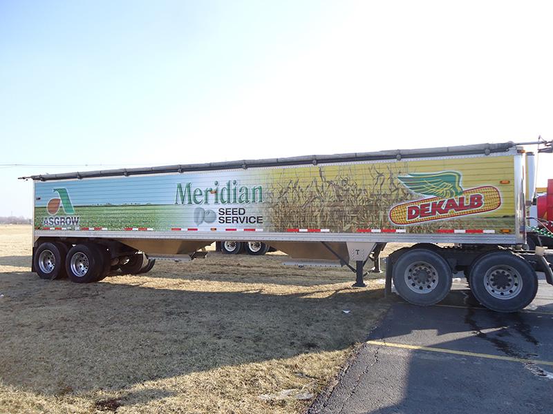 Meridian Seed Service Grain Trailer