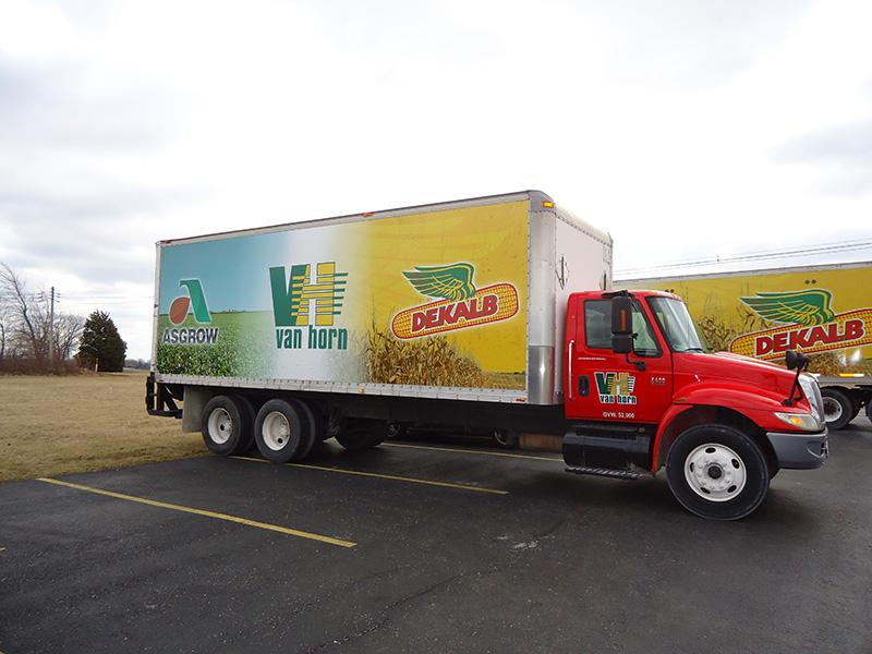 Meridian Seed Box Truck
