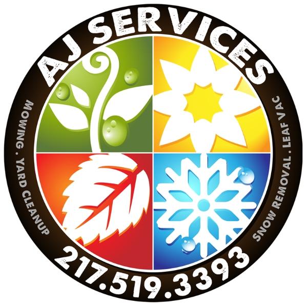 AJ Services logo design