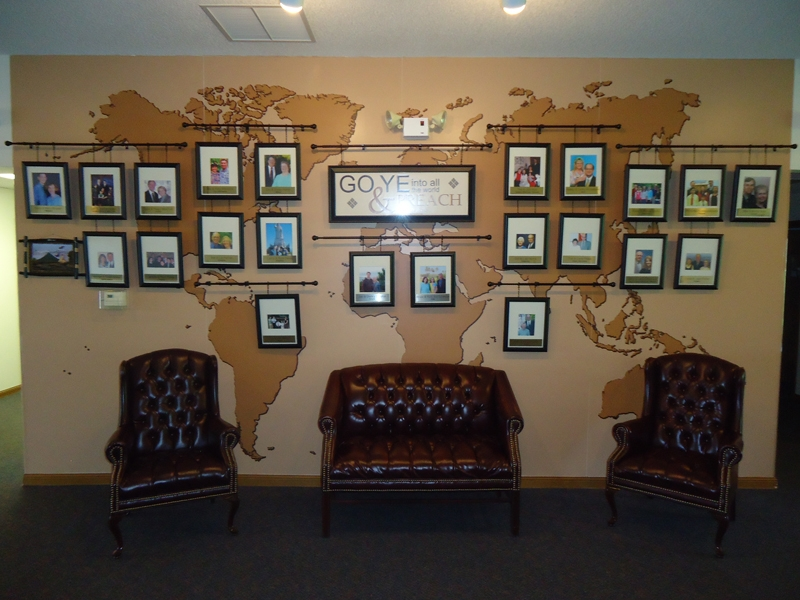 East Park Baptist Wall Graphics