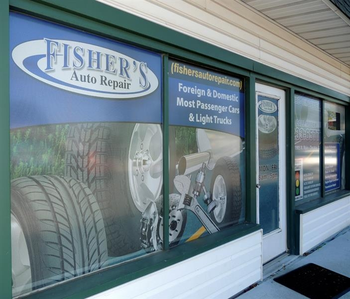 Fisher's Auto Repair window perf