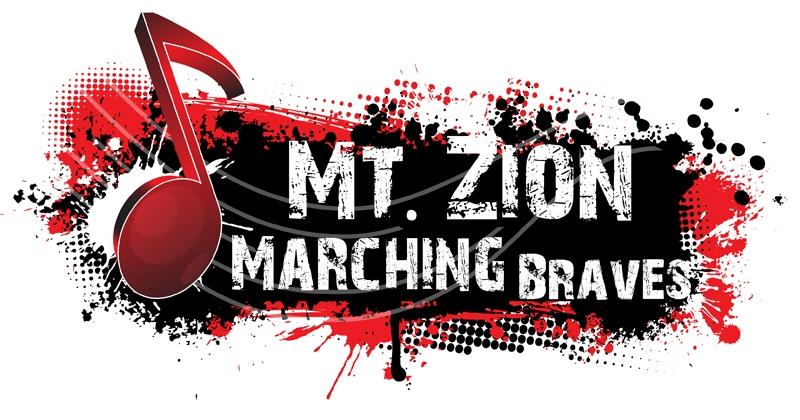 Mt. Zion Marching Braves logo design